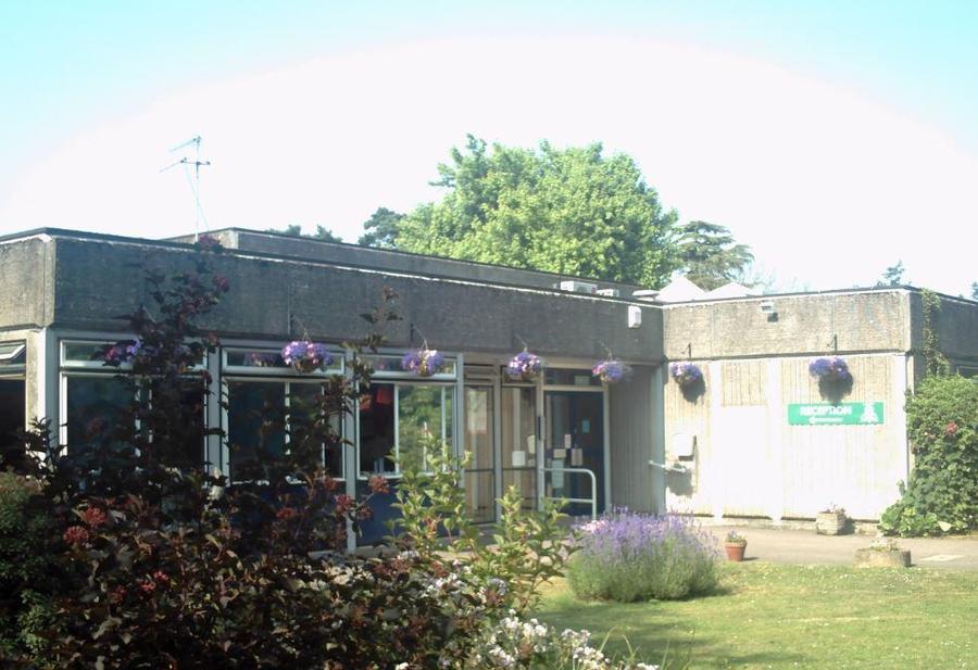 Front of School 2007