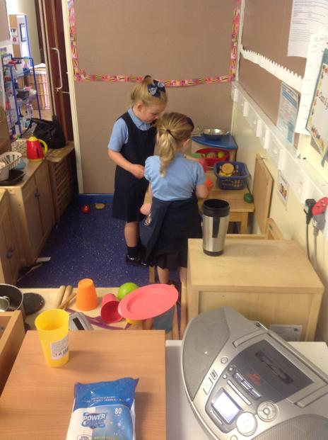Our role play area.