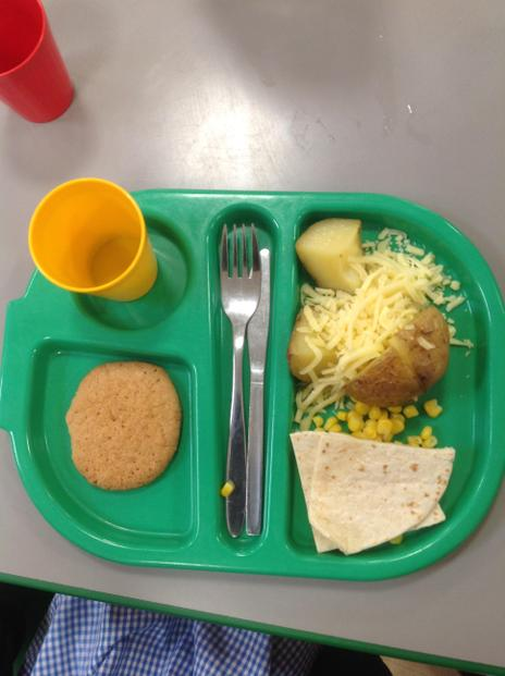 We can have a hot school dinner.