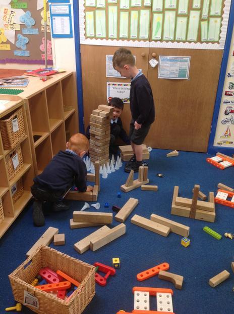 We have big blocks to build.
