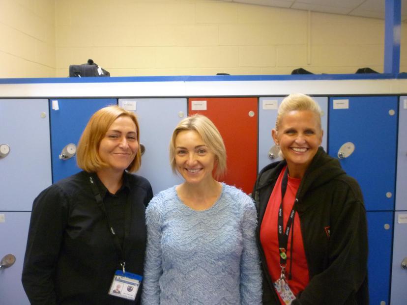 Left -> Right: Mrs Beveridge, Mrs McManus, Mrs Houghton