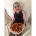 Delicious looking pizza!
