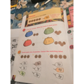 Noah's workbooks have been keeping him busy