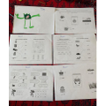 Rayans been working hard on his home learning pack