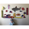 She made this incredible seascape with her family!