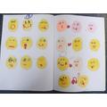 Milena explored feelings through emojis!