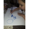 Using shapes to draw a mouse