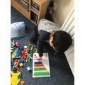Sorting colours and counting