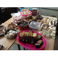 A 'slice' of our delicious cake stall