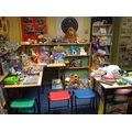 Pre-loved toys and book stall
