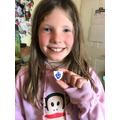 WOW, Blue Peter badge!