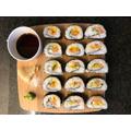 The Everitt's made sushi!
