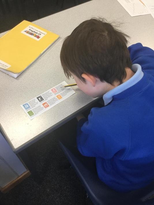 We identified the Rights of a Child, looking at the different articles.