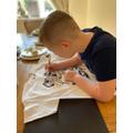 Designing a t-shirt!