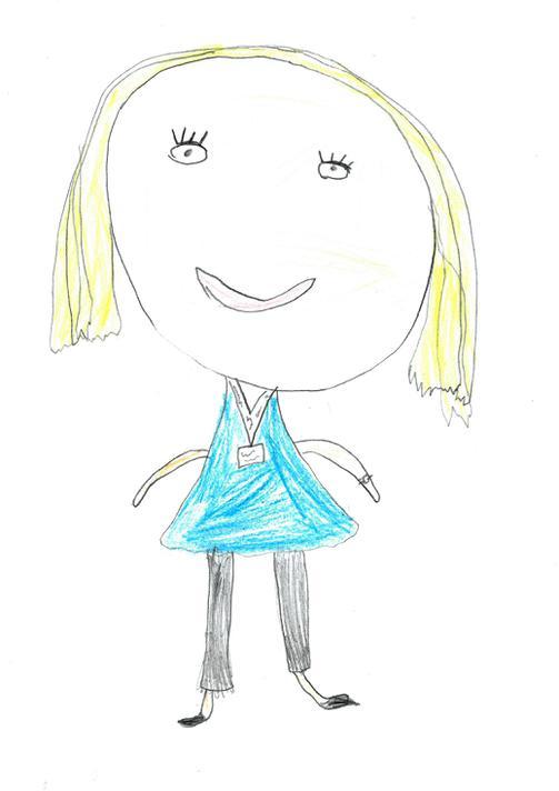 Mrs Lees by Katie C age 7