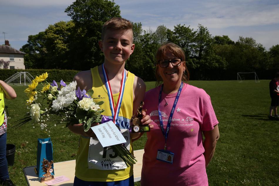 Under 16s Male Winner