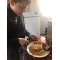 More delicious cooking from Matthew!