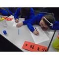 Getting to grips with writing Mandarin Chinese.
