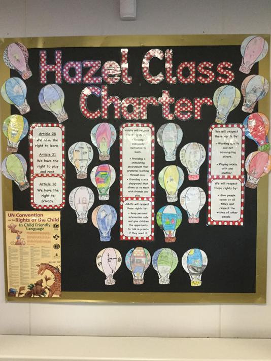 Hazel Class charter