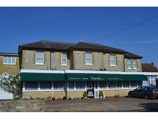 Friends Hotel in Sandown, Isle of Wight