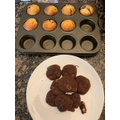 Ethan has been baking. These look delicious!
