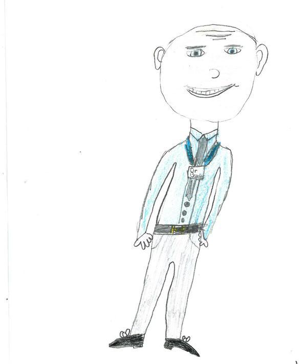 Pine Class - Mr Baxter by Ruby B age 10
