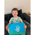 Joseph has made a lovely Easter picture.