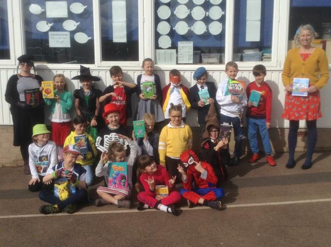 Can you recognise our book characters?