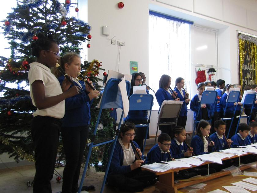 Year 6 Recorder Concert - December 2018