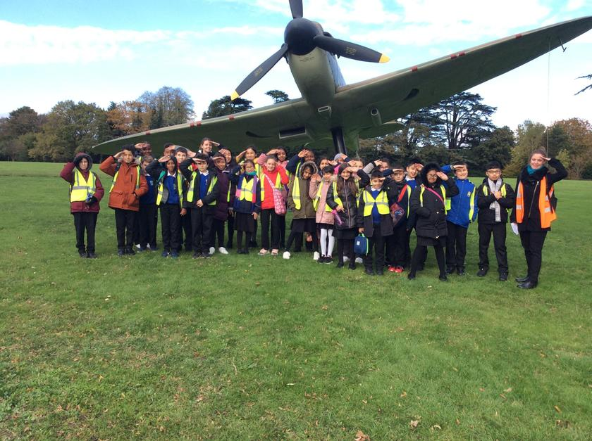Year 6 visit to Bentley Priory - October 2019