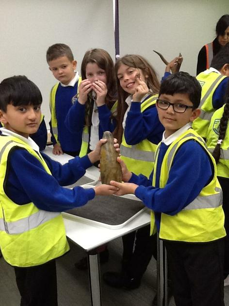 Year 4 visit to the Museum of London - November 18