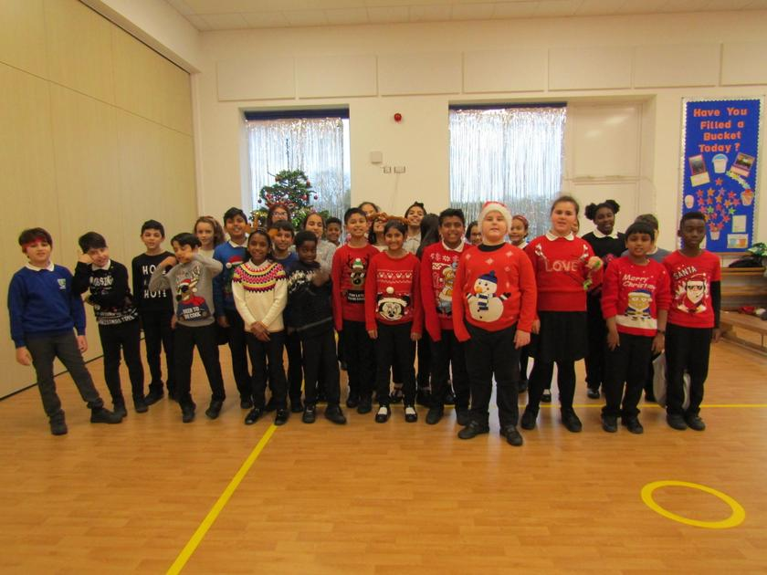 Year 6 Christmas Jumper Day 2019