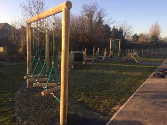 New EYFS Trim Trail - March 2019