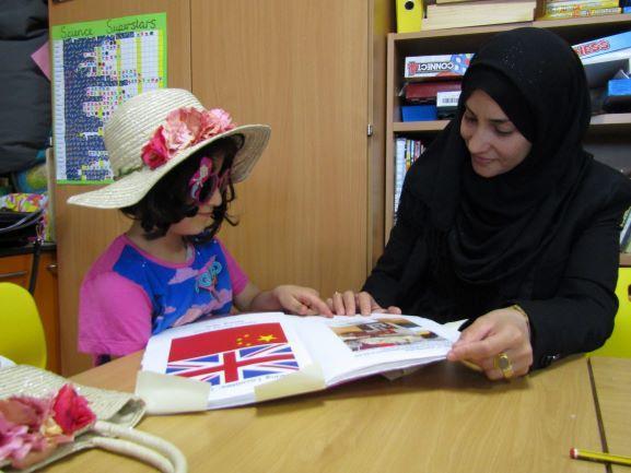 Parents & Children after Family Assemblies - June