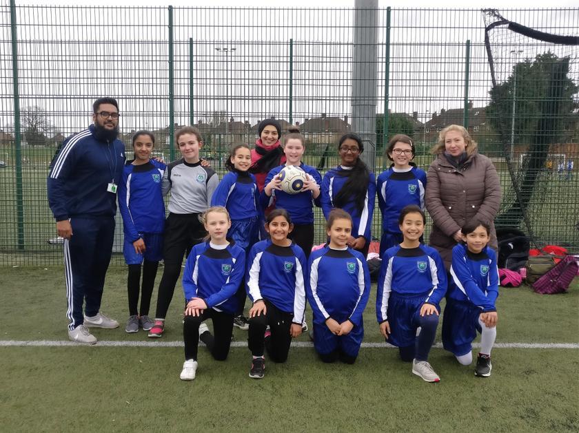Girls' Football Tournament - March 2019