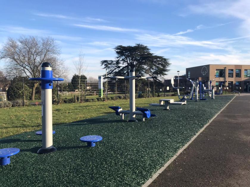 New Outdoor Gym Equipment - Jan 2021