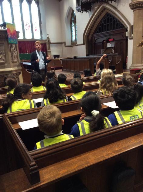Year 3 Visit St John's Church - July 2021
