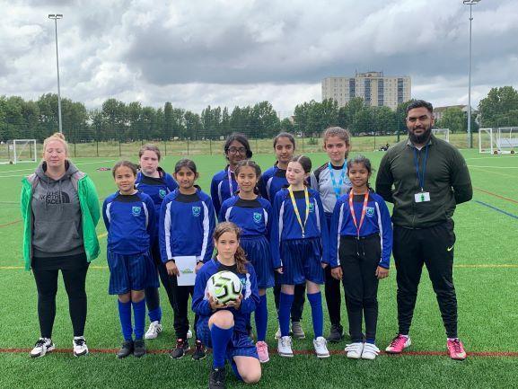 Girls Football Tournament - June 2019