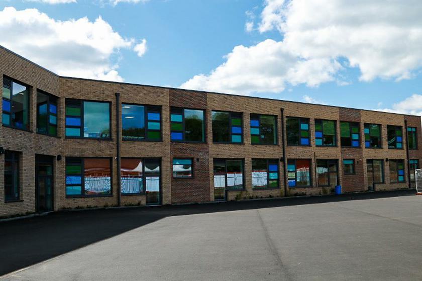 Our New School Building  -  April 2017