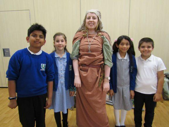 Year 5 Anglo Saxons Workshop - June 2019
