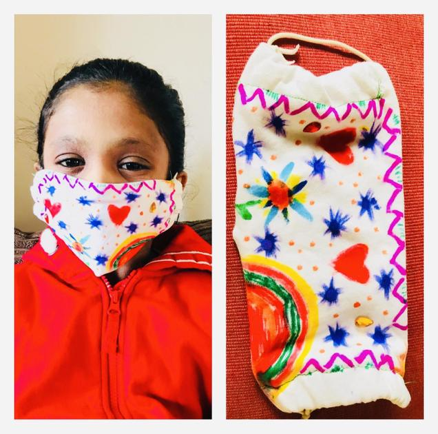 Science Challenge - Design a face mask - Feb 2021