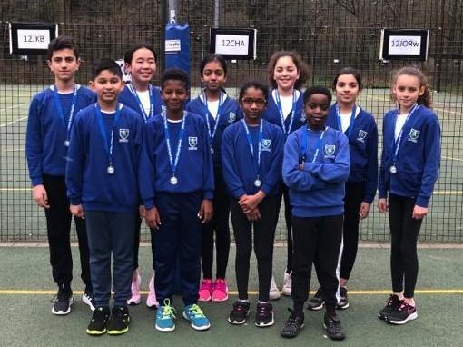 Netball Team win Silver Medal - February 2020