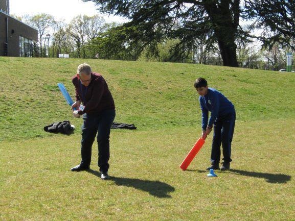 Year 6 Cricket Club - May 2021