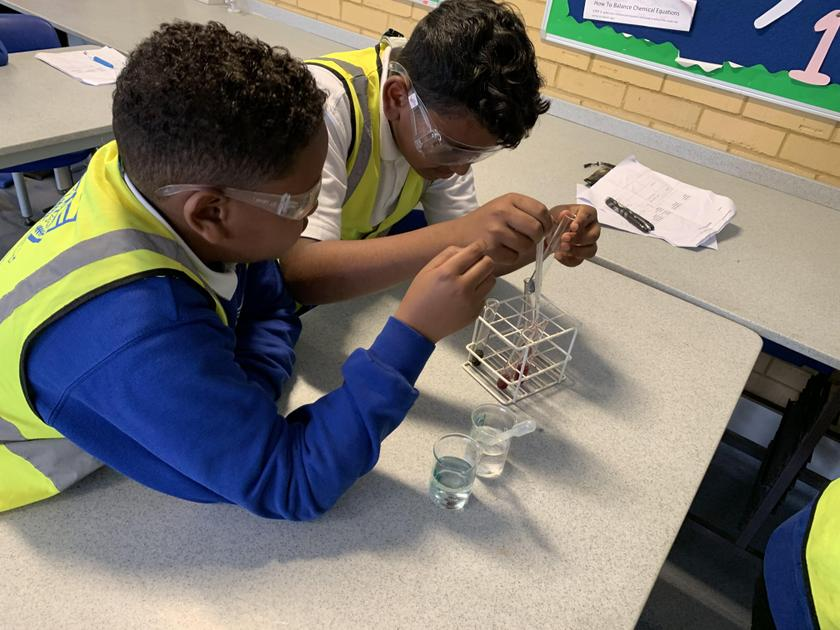 Year 5 Bentley Wood Science Day June 2019