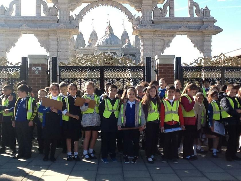 Year 4 at Neasden Temple - October 2018