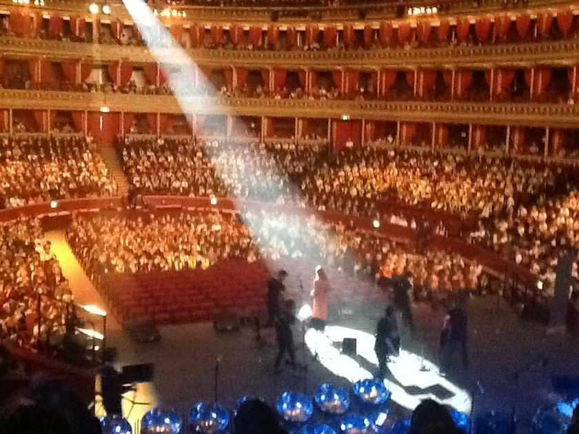 Year 4 at the Royal Albert Hall October 2018