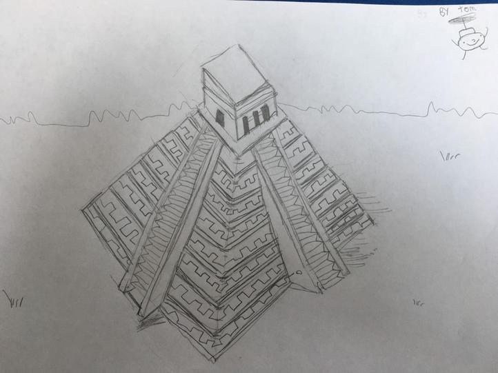 Tom's Mayan temple
