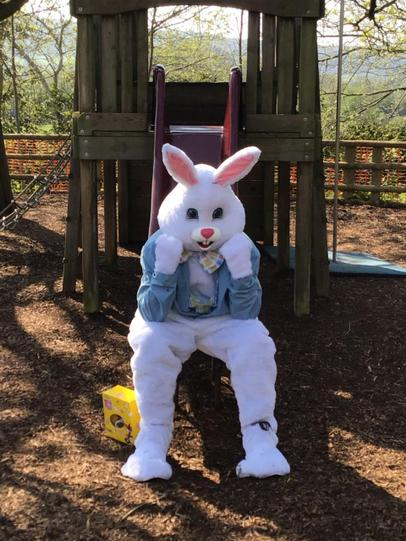The Easter bunny had no-one to play with!
