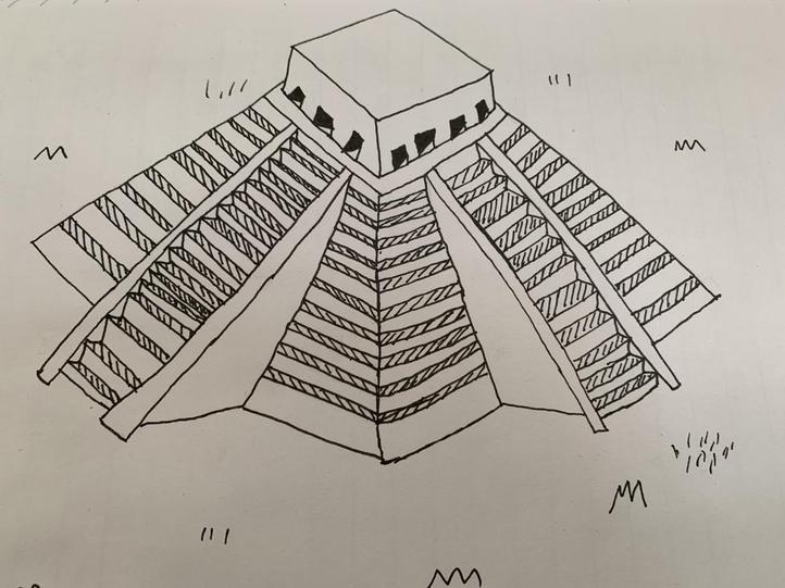 Maia's Mayan temple