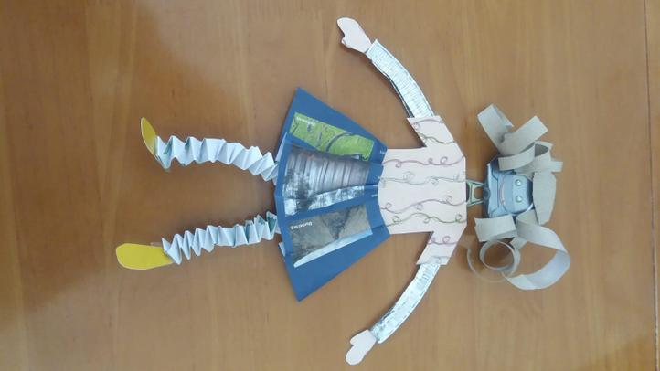 A recycling doll to try from Mrs Adams